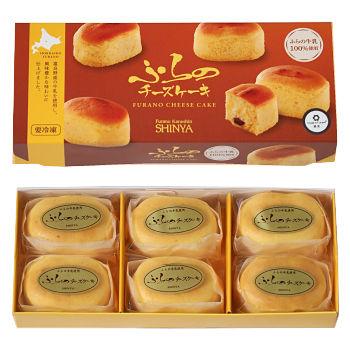 ふらのチーズケーキ 6個入り 北海道 お土産 おみやげ お菓子 スイーツホワイトデー 2020