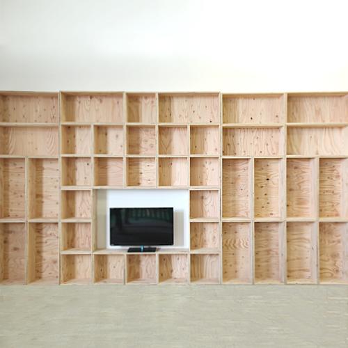 北海道育ちの木材を使った国産家具 おしゃれな収納ボックス 木箱 木製 送料無料 北海道のみ おしゃれな 2020新作 WOOD 720×20個 木材 360×20個 塗装あり メーカー公式 BOX 多機能収納ボックス ウッド