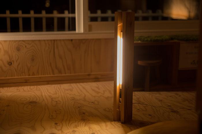 【北海道産カラマツ材】PURE WOOD LASER LIGHT 910