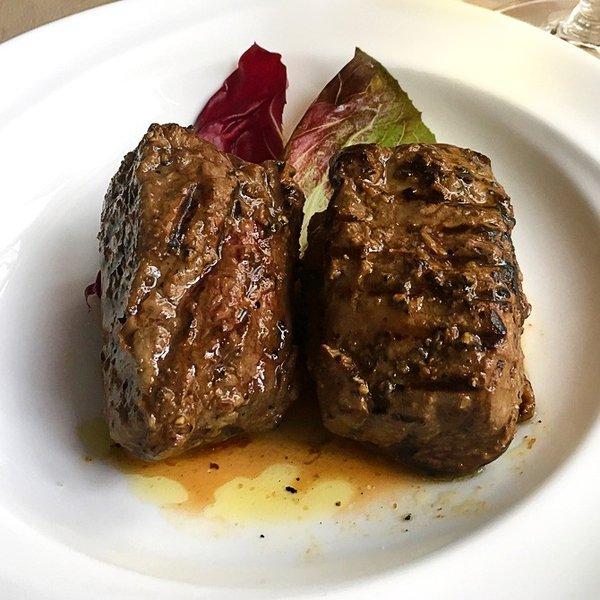 エゾシカロース肉のグリル200gシンプルな味付けで上品に
