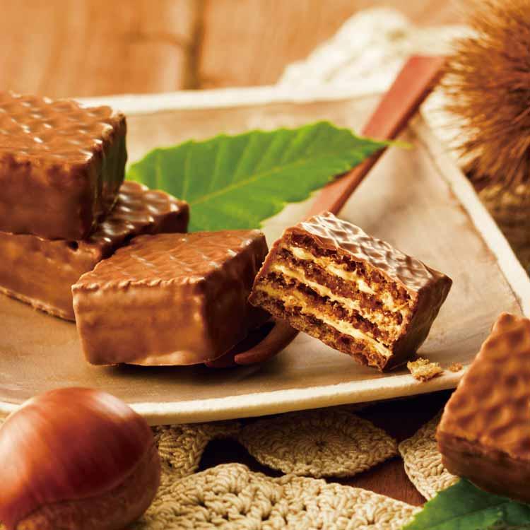 期間 数量限定 セール特価品 秋だけのお楽しみ 正規品送料無料 ご購入はお早めに チョコレートウエハース モンブランクリーム ロイズ