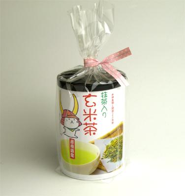 ひこにゃん 抹茶入り玄米茶 日本未発売 50g筒入 爆安プライス