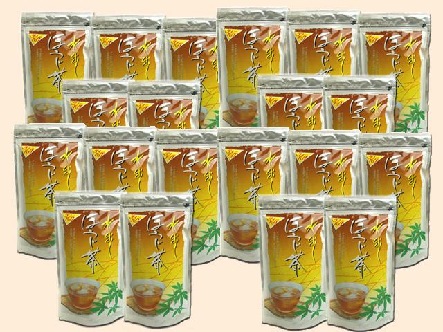 水出しほうじ茶ティーパック 【メッシュパック】15P業務用20袋セット 【送料無料】