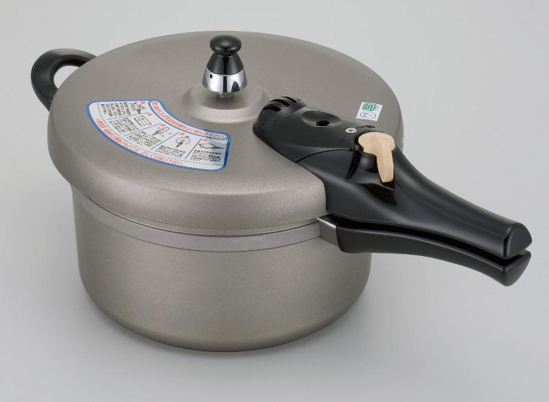 IHヘルシー快速鍋/4.5L 8合炊き IH対応 圧力鍋 アルミ キャスト 安全 経済的 日本製