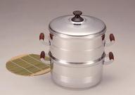 デラックス長生セイロセット一重/26cm蒸す ふかし 赤飯 もち セイロ 蒸籠 蒸し器 アルミ 軽い 鋳造 キャスト ガス火