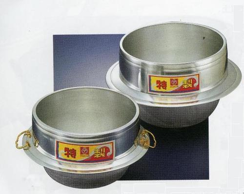 特製釜 (かん付) 33cm ガス火羽釜 釜 炊飯 かまど炊き 鍋 アルミ 鋳造 鋳物 キャスト 日本製 ご飯 業務用 プロ キャンプ