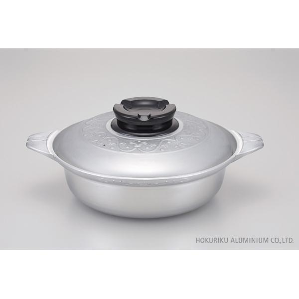 プロマイスター(業務用) ちり鍋 33cm割れない 卓上鍋 アルミ 軽い 鋳造 キャスト 日本製 ガス火 業務用