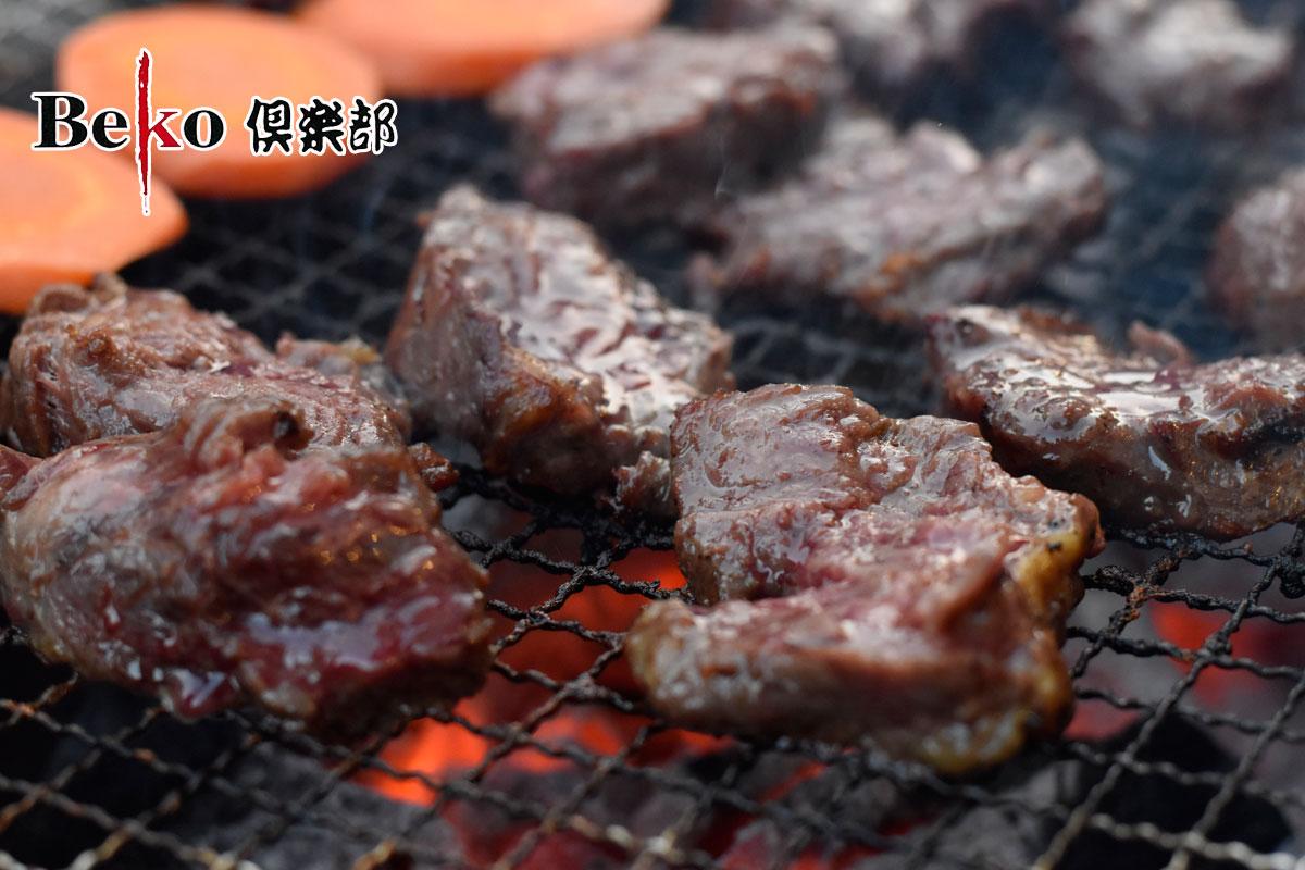サガリ ハラミ 3kg ブロック 100gあたり266.6円(税別) たっぷりメガ盛り3000g! メルティークサガリ 3kg 牛脂注入加工肉 S43 ホクビー