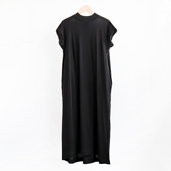 ALWEL オルウェルShort Sleeve swing dress Blackショートスリーブ スウィングドレス ブラック