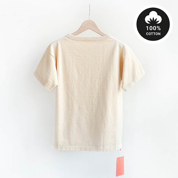 ANDERSEN-ANDERSEN アンデルセンアンデルセンBoatsman Short Cotton Sweater 12GG Raw cottonボーツマン ショート コットン セーター キナリ [Casual]