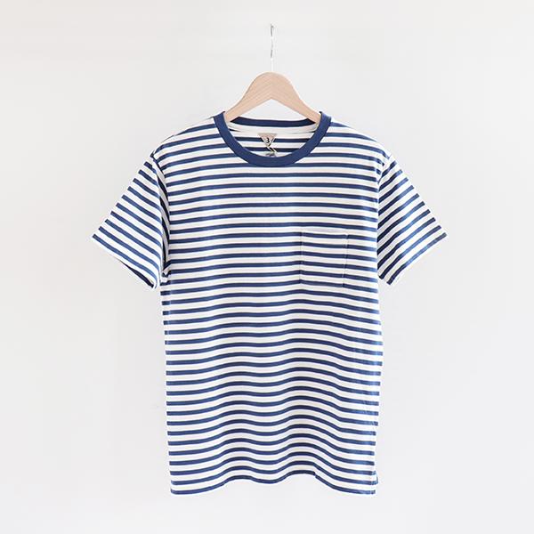 FilMelange フィルメランジェBEN border T-shirt Heritage blue/Whiteベン ボーダーTシャツ ブルー・ホワイト [1911027] [Casual]