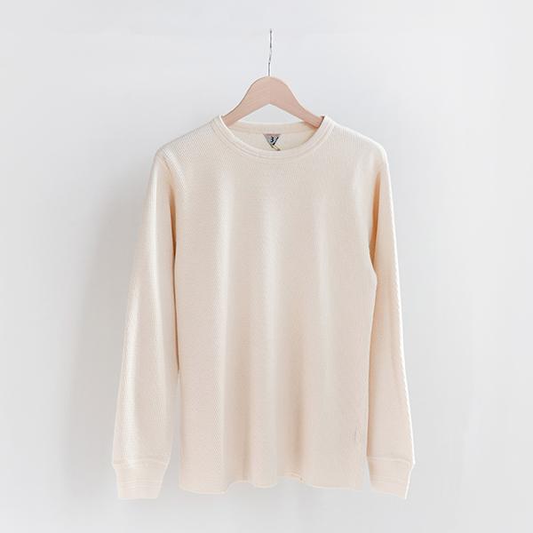 FilMelange フィルメランジェDAN Duofold Honeycomb thermal shirt Naturalダン デュオフォールド サーマルシャツ ナチュラル