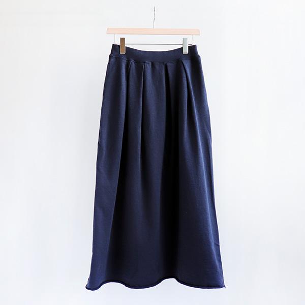 FilMelange フィルメランジェSHARON long skirt Black navyシャロン ロングスカート ブラックネイビー