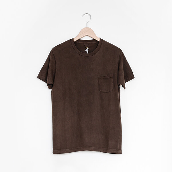 FilMelange フィルメランジェDR SUNNY t-shirt Mud-dyedDR サニー ユニセックス Tシャツ 泥染め [Casual]