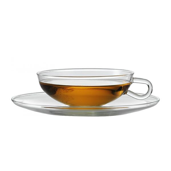 Jenaer Glas イエナグラスEdition Wilhelm Wagenfeld Tea cup & Saucerヴィルヘルム・ヴァーゲンフェルド復刻版 ティーカップ&ソーサー [Breaktime]