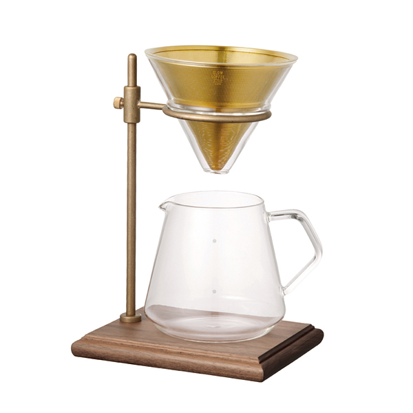 KINTO SLOW COFFEE STYLE STAND BREWER STAND SET SO2 4cupsKINTO SLOW COFFEE STYLE ブリューワースタンドセット [27591]
