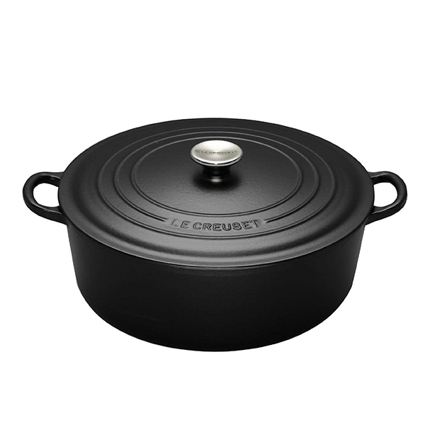 LE CREUSET COCOTTE RONDE ココットロンド 22cm マットブラック [Cooking]