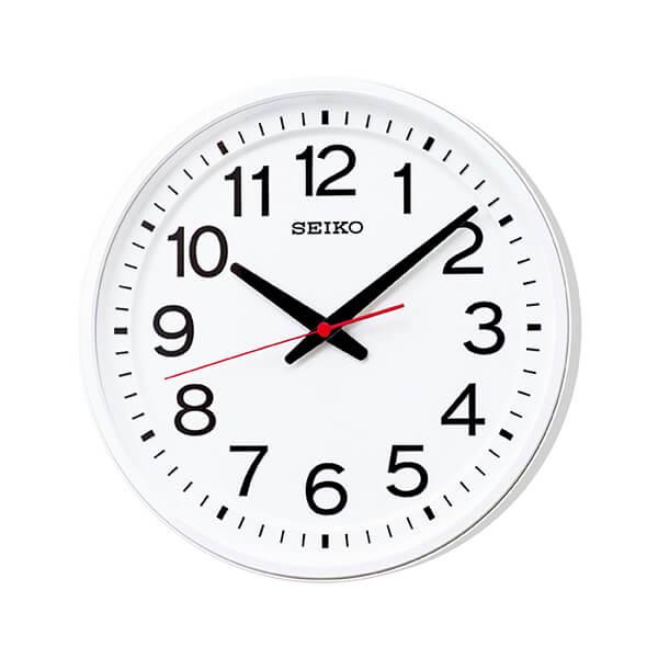 SEIKO WALL CLOCK Classroom KX236W セイコー ウォールクロック 教室の時計 電波クロック