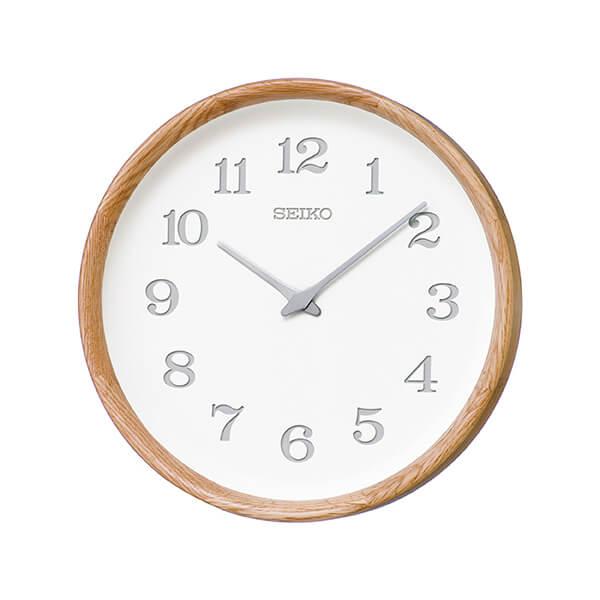 SEIKO WALL CLOCK nukumori KX239A oak セイコー ウォールクロック ぬくもり オーク [Cozy]