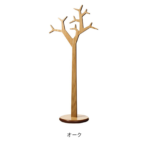 SWEDESE Tree Coat Hanger Large Oakスウェデッセ ツリーコートラック ラージ(オーク)