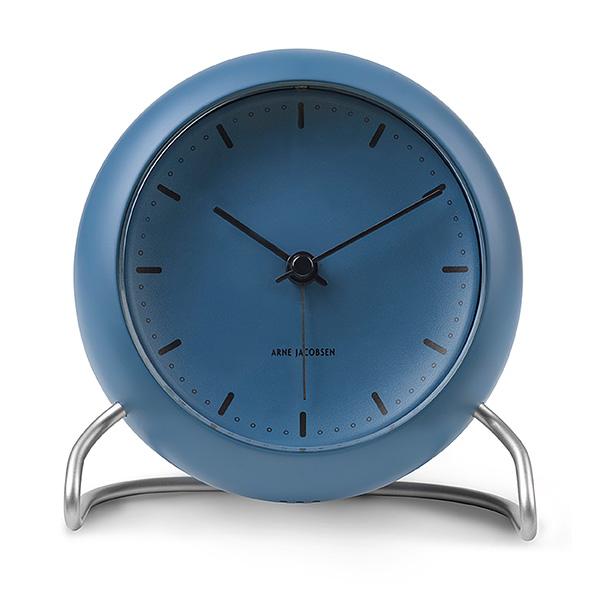 Arne Jacobsen アルネ・ヤコブセンTable Clock CityHall テーブルクロック シティホールStone blue ストーンブルー