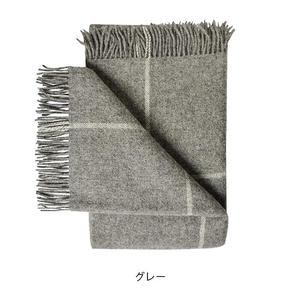 Wool Blanket with check pattern スウェーデン産 ウールブランケット・プレイド スモール