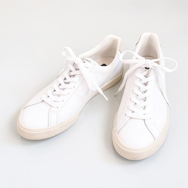 VEJA ヴェジャEsplar Leather Sneaker low レザースニーカーExtra-White / エキストラホワイト ロウ