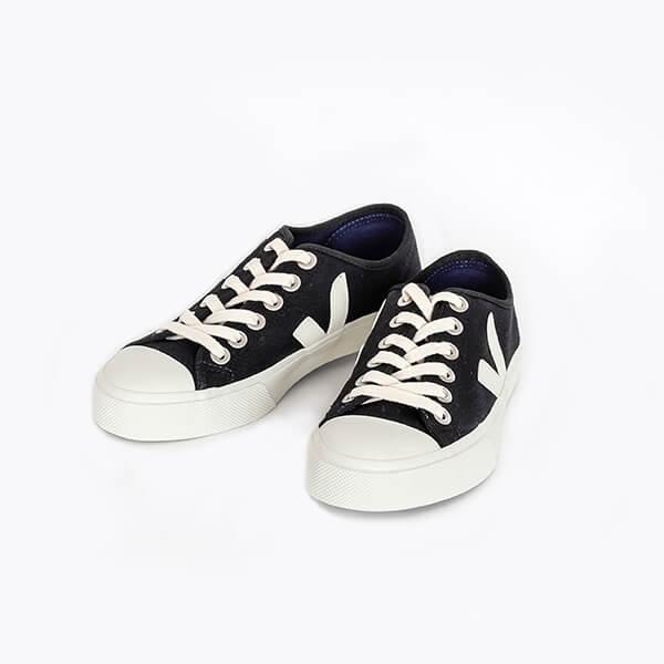 VEJA ヴェジャWata Canvas Sneaker Black PierreWata キャンバススニーカー ブラックピエール