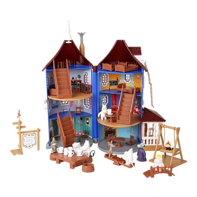【送料無料】Moomin ムーミン Martinex マルティネックス ムーミンハウス ( 取っ手付 )【北欧雑貨】