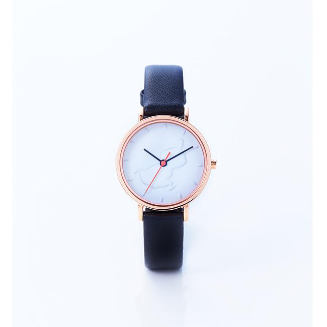 【送料無料】MOOMIN TIMEPIECES ムーミン タイムピーシーズ ウォッチ (Little My Chasing)【北欧雑貨】