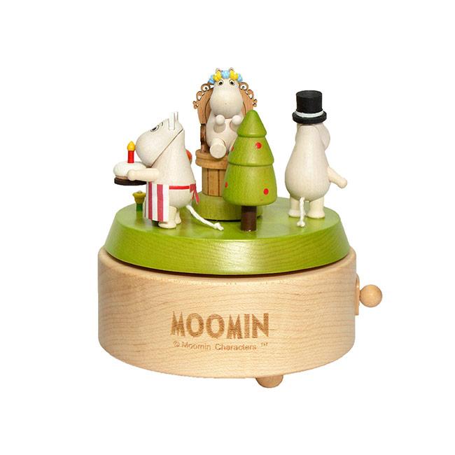 【送料無料】Moomin ムーミン Music box オルゴール ( Moomin's Birthday ムーミンバースデー )【北欧雑貨】
