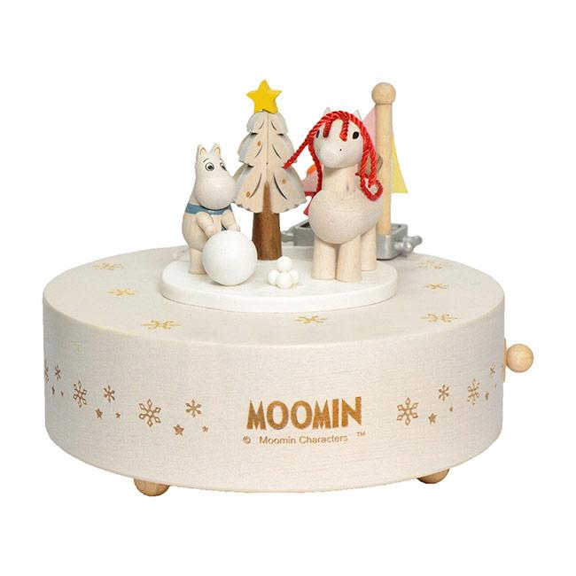 【送料無料】Moomin ムーミン Music box オルゴール ( Moomin's Winter ムーミンウィンター )【北欧雑貨】