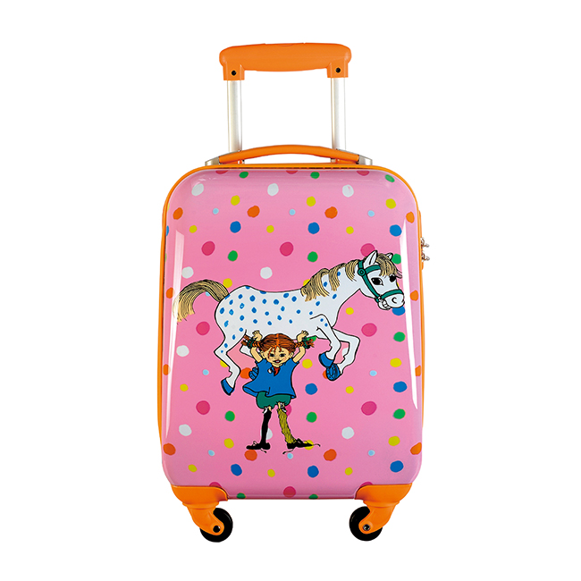 【送料無料】Pippi ピッピ スーツケース ピンク【北欧雑貨】