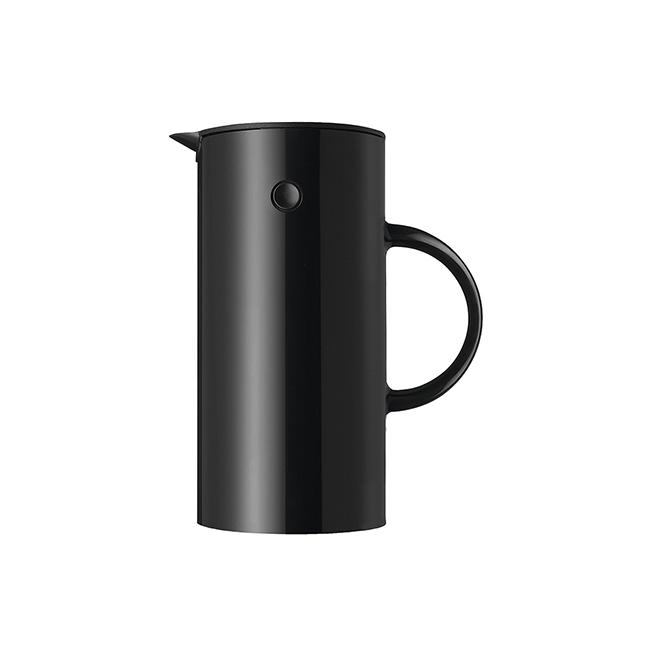 【送料無料】Stelton ステルトン EM77 バキュームジャグ 0.5L ブラック【北欧雑貨】