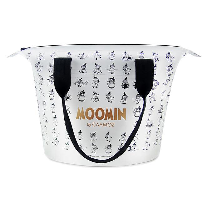 【送料無料】MOOMIN ムーミン CAAMOZ カーモズ ジッパー付きトートバッグ ( 10L / リトルミイ / ホワイト )【北欧雑貨】