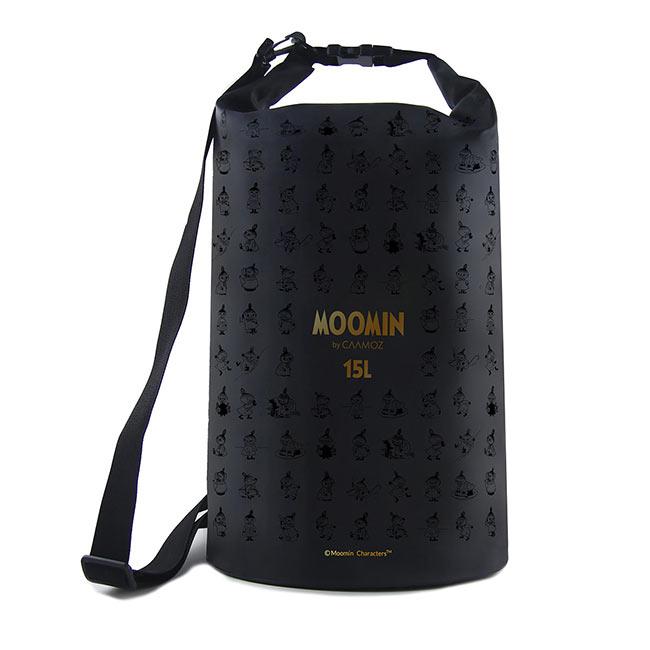 【送料無料】MOOMIN ムーミン CAAMOZ カーモズ ドライバッグ ( 15L / リトルミイ / ブラック )【北欧雑貨】