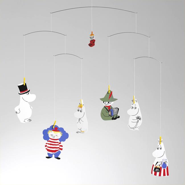 Moomin ムーミン Flensted Mobiles フレンステッド・モビール ( Moomin ムーミン / 432 )【北欧雑貨】