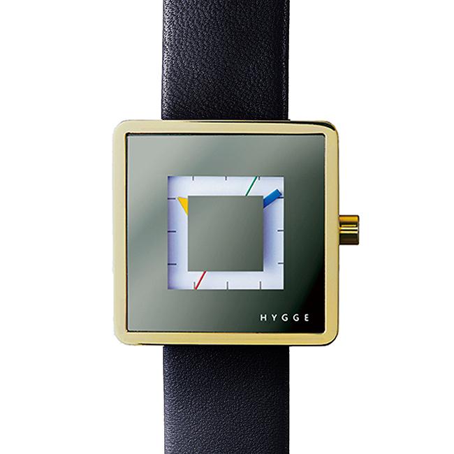 【送料無料】HYGGE ヒュッゲ ウォッチ 2089 SERIES WATCH Leather ( Gold / HGE020082 )【北欧雑貨】