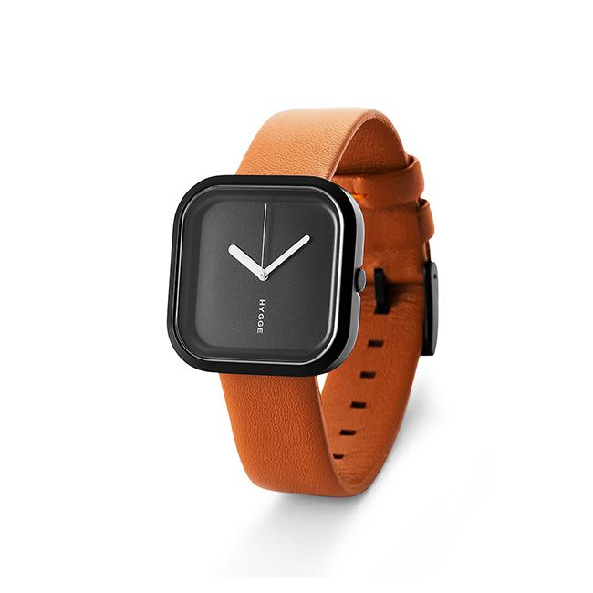 【送料無料】HYGGE Watches ヒュッゲウォッチズ VARI ヴァリ ( ブラック×ブラック / HGE020092 )【北欧雑貨】