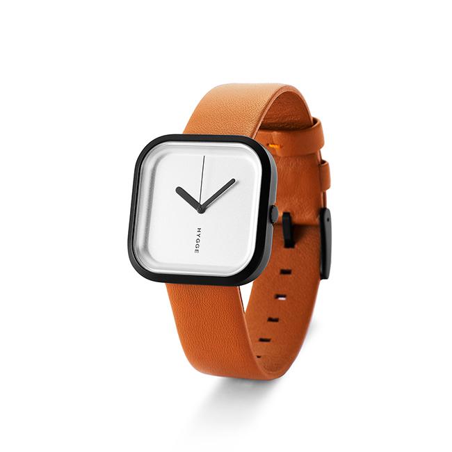 【送料無料】HYGGE Watches ヒュッゲウォッチズ VARI ヴァリ ( ブラック×シルバー / HGE020093 )【北欧雑貨】