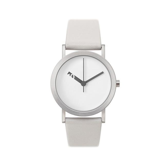 【送料無料】Normal ノーマル ウォッチ EXTRA NORMAL Grey White dial (32mm/NML020025)【北欧雑貨】
