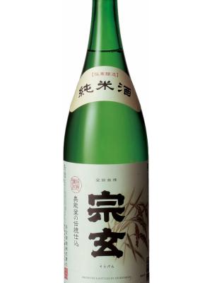 宗玄 純米酒 1.8L 6本(1ケース)