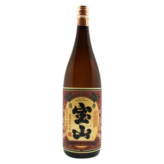 薩摩宝山 芋 25° 1.8L瓶 6本(1ケース)