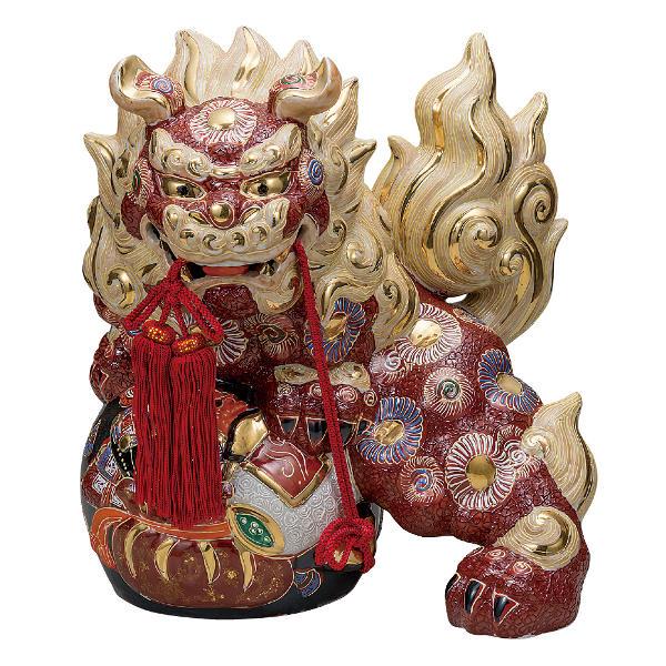 九谷焼 12号宝獅子 盛K6-1643