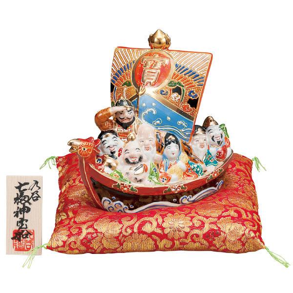 九谷焼 6号七福神宝船 盛K6-1623