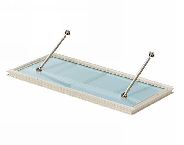 YKKAP窓まわり ひさし シンプルモダン 上吊りひさし 出幅900mm:照明なし[先付用][幅1000mm]先付け金具付