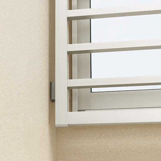 YKKAPオプション窓まわり面格子高強度面格子FLA:入隅ブラケット