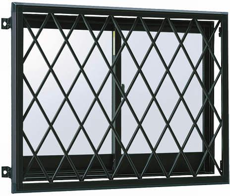 YKKAP窓まわり 面格子 ラチス面格子2LA:[幅700mm×高650mm]【YKK】【YKK面格子】【YKKラチス面格子】【防犯面格子】【アルミ面格子】【窓格子】【壁付け格子】