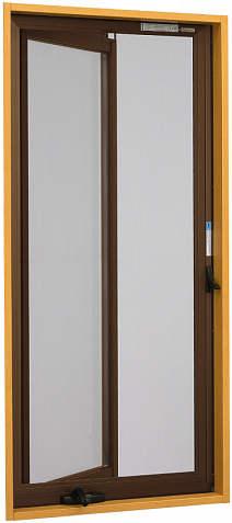 YKKAPオプション窓サッシ装飾窓エピソード:クリアネット固定網戸[幅545mm×高1252mm]