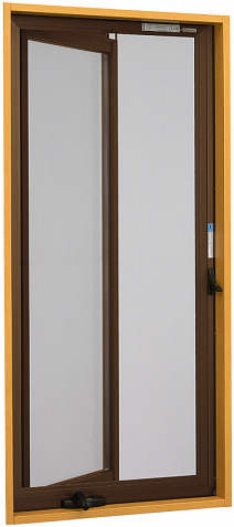 YKKAPオプション窓サッシ装飾窓エピソード:クリアネット固定網戸[幅661mm×高452mm]